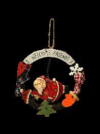 حلقه سرامیکی خوش آمدگویی طرح بابانوئل