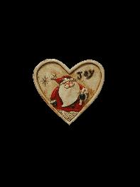 مگنت یخچالی بابانوئل در قلب