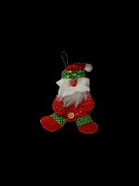 عروسک  آویز بابانوئل بافتنتی
