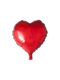 بادکنک قلب قرمز فویلی هلیومی