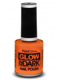 لاک ناخن شبرنگ یا شب تاب (black light) نارنجی