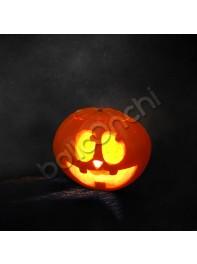 کدو هالووین طرح خنده بامزه