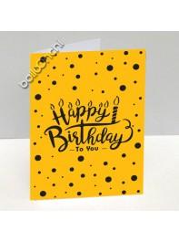 کارت تبریک تولد زن خال خالی