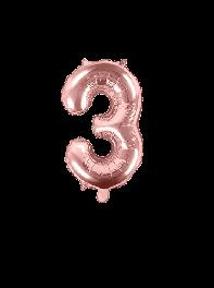 عدد سه هلیومی فویلی انگلیسی