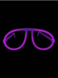 عینک ساده شبرنگ یا شب تاب (black light) بنفش