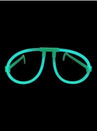 عینک ساده شبرنگ یا شب تاب (black light) آبی