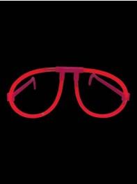 عینک ساده شبرنگ یا شب تاب (black light) قرمز