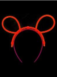 تل سر خرگوشی شبرنگ یا شب تاب (black light) نارنجی