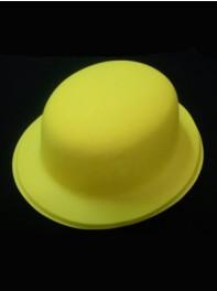 کلاه بولر شبرنگ یا شب تاب (black light) زرد