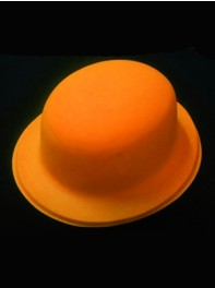کلاه بولر شبرنگ یا شب تاب (black light) نارنجی