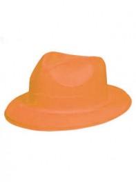 کلاه شاپو شبرنگ یا شب تاب (black light) نارنجی