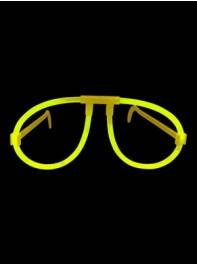 عینک ساده شبرنگ یا شب تاب (black light) زرد
