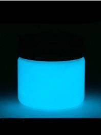 پودر رنگ آمیزی  شبرنگ یا شب تاب (black light) آبی 100 گرمی