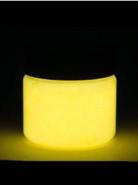 پودر رنگ آمیزی  شبرنگ یا شب تاب (black light) زرد 100 گرمی