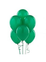 دسته بادکنک هدیه 6 تایی سبز لاتکس