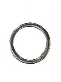 حلقه بادکنک استیل نقره ای