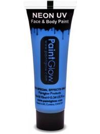 ژل رنگ آمیزی بدن و صورت شبرنگ یا شب تاب (black light) آبی