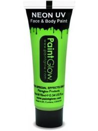 ژل رنگ آمیزی بدن و صورت شبرنگ یا شب تاب (black light) سبز