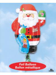 بادکنک بابا نوئل فویلی هلیومی مخصوص کریسمس