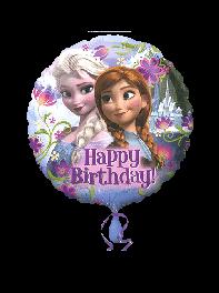 بادکنک فویلی طرح تولدت مبارک (Happy Birthday) فروزن(Frozen)