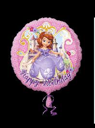 بادکنک فویلی طرح تولدت مبارک (Happy Birthday) سوفیا(Sofia)