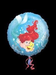 بادکنک فویلی انیمیشن پرهای دریایی (Mermaid)