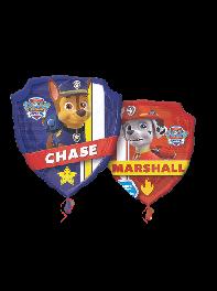 بادکنک فویلی سگ های نگهبان(Paw Patrol)