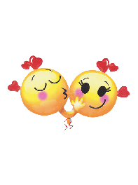 بادکنک عاشقانه ایموجی