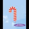 بادکنک فویلی هلیومی عصای آبنبات(candycan)