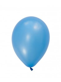 بادکنک لاتکس آبی روشن مات