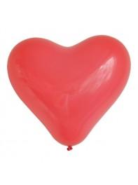 بادکنک لاتکس قلبی قرمز