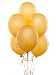 دسته بادکنک هدیه 6 تایی طلایی لاتکس (دسته بادکنک)