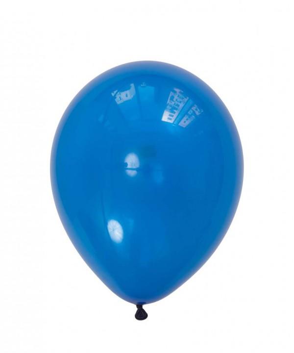 بادکنک لاتکس آبی لاجوردی مات