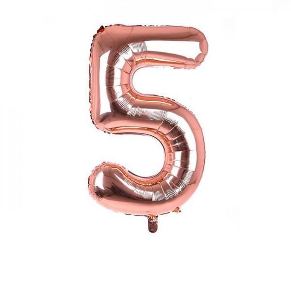 عدد پنج هلیومی فویلی انگلیسی