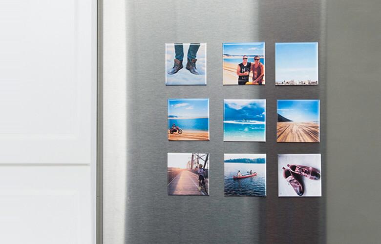 هدیه مگنت های یخچال با عکس شخصی برای هدیه از راه دور