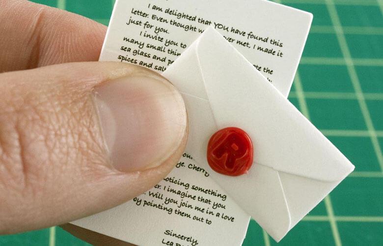 فرستادن نامه های کوچک و بامزه از راه دور