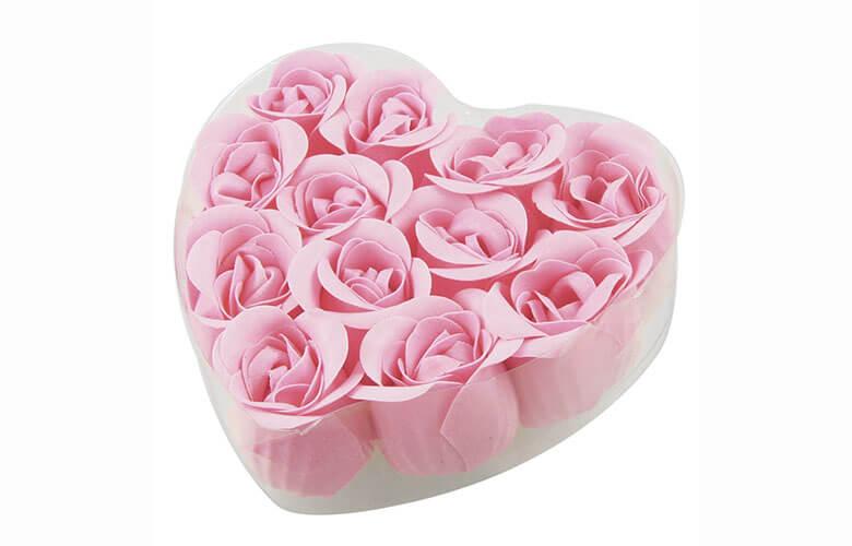 گل های رز صابونی