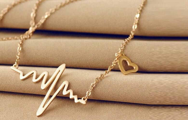 گردنبند عاشقانه ضربان قلب