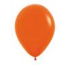 بادکنک نارنجی مات لاتکس