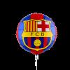 بادکنک بارسلونا هلیومی فویلی