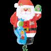 بادکنک بابانوئل فویلی هلیومی