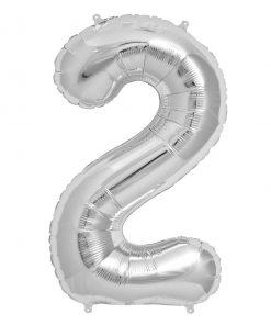 عدد دو فویلی نقره ای غیر هلیومی
