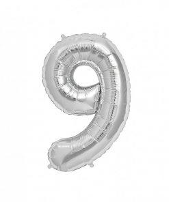 عدد فویلی نقره ای غیر هلیومی