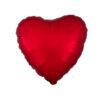 بادکنک فویلی قلب قرمز هلیومی