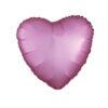بادکنک فویلی هلیومی قلب صورتی