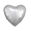 بادکنک قلب نقره ای براپق