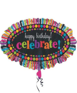 بادکنک تبریک تولد فویلی هلیومی