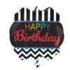 بادکنک تولدت مبارک مردانه هلیومی فویلی