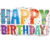 بادکنک تولدن مبارک فویلی هلیومی