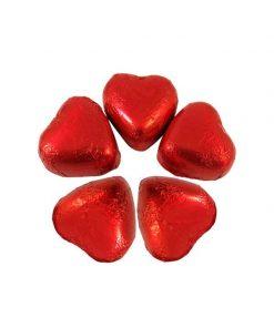 پک 5 تایی شکلات قلبی
